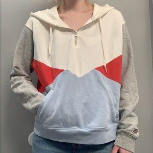 LEVI'S Quarter zip hoodie